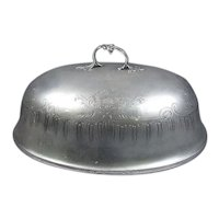 Odiot Sterling Silver Meat Dome