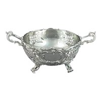 German Sterling Silver Serving Bowl