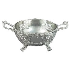 German Sterling Silver Serving Bowl