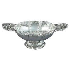 Dutch Silver Brandy Bowl