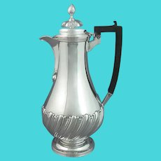 Victorian Sterling Silver Hot Water Pot