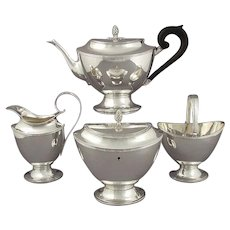 Dutch Sterling Silver Tea Set