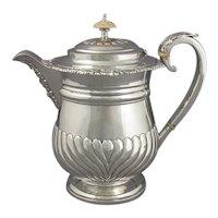 George IV Silver Coffee Biggin