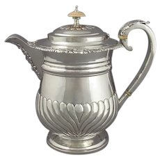 George IV Silver Coffee Biggin
