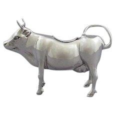 Italian Silver Cow Creamer