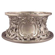 Irish Victorian Sterling Silver Dish Ring