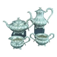 English Sterling Silver Tea Service