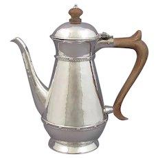 AE Jones Silver Coffee Pot