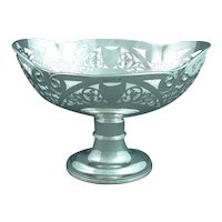 Edwardian Sterling Silver Centrepiece Bowl