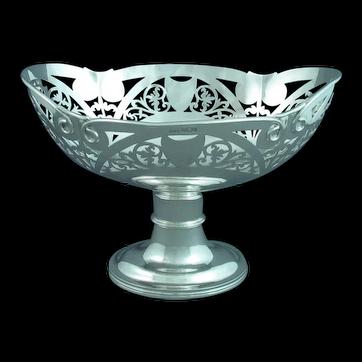 Edwardian Sterling Silver Centrepiece Bowl