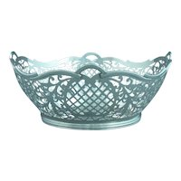 Neoclassical Style Dutch Silver Basket