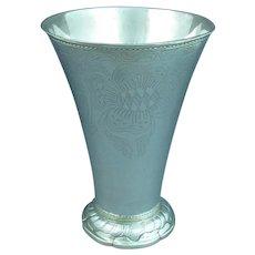 Large Swedish Silver Beaker