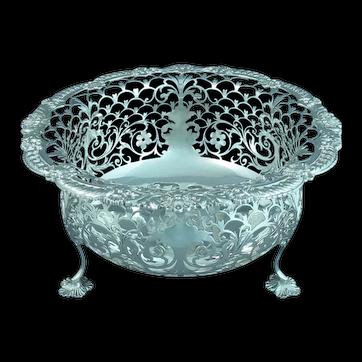 Edwardian Silver Centrepiece Bowl