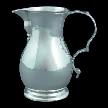 George II Provincial Silver Cream Jug