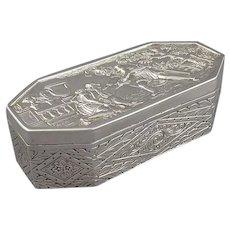 Victorian Sterling Silver Jewellery Box