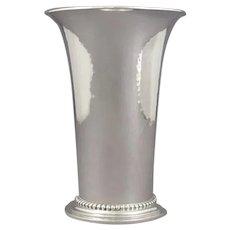 Georg Jensen Sterling Silver Vase