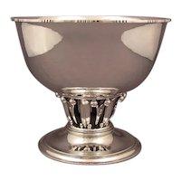 Georg Jensen Sterling Silver Louvre Bowl