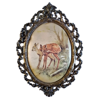Vintage Ornate Picture  Frames Made in Italy