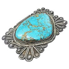 Zuni Manta or Native American Pendant/Pin