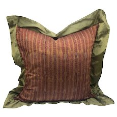 Vintage Thai Silk Pillow