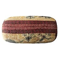 Vintage Indian Bolster Pillow