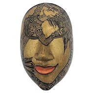 Fine quality vintage Balinese Mask