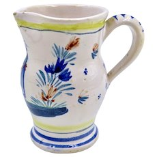 HR Quimper France Pitcher C 1920