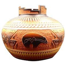 JR Diane Aragon Acoma-Laguna Pueblo N.M. Pottery