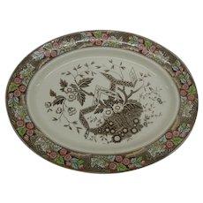 Wedgwood Beatrice Pattern Platter Circa 1870