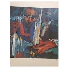 """Artist Proof Serigraph of Frank Frederico's """"Crescendo"""" 1996"""