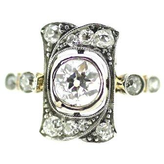 Edwardian Diamond Dress Ring