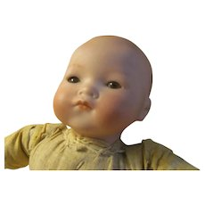 "Antique Germany Armand Marseille Dream Baby Doll AM 341 12~Bisque Head Sleep Eyes 12"""