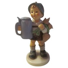 Vintage Hummel Goebel Figurine FOR FATHER~Boy with Stein & Turnips #87~TMK6