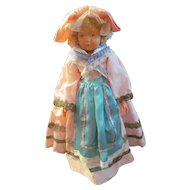 """Pretty Vintage French Celluloid Doll~SNF 1929-39 Societe Nobel Francaise~10.75"""""""