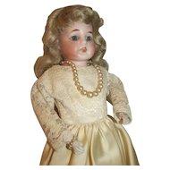 "Antique Bisque Head Doll Heubach or Handwerck Horseshoe Mark~12.5"" Germany"