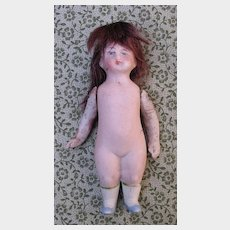 """3 1/4"""" All Bisque Doll"""