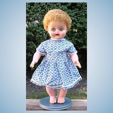 "17"" 1950's Baby Doll with Wardrobe"