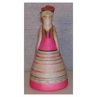 "3 1/2"" Russian Republic Souvenir Doll"