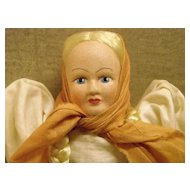 "8 1/4"" Travel Doll with Box - Poland"