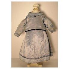 Satin Two-Piece Doll Dress