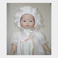 "15 1/2"" Bisque Head Baby Doll ~ Marian Yu"