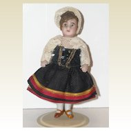 "3.5"" French All Bisque Doll by SFBJ"