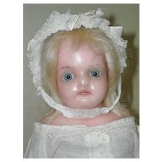 """10.5"""" ~ Poured Reinforced Wax Toddler Doll"""