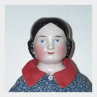 "23"" Kister Covered Wagon China Head Doll"