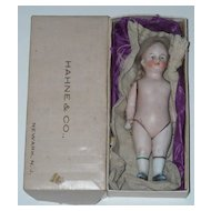 """6"""" All Bisque Doll with Original Wig"""