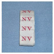 French Laundry Monogram Tape – NV