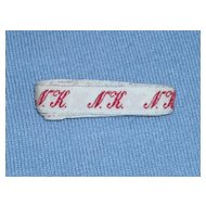 French Laundry Monogram Tape – NK
