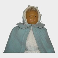 Wax Faced Mystery Doll - Possible London Rag