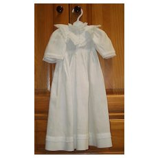 Early White Dolls Dress