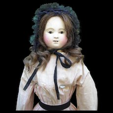 """26"""" French Papier Mache Pauline Doll by Andreas Voit - Red Tag Sale Item"""